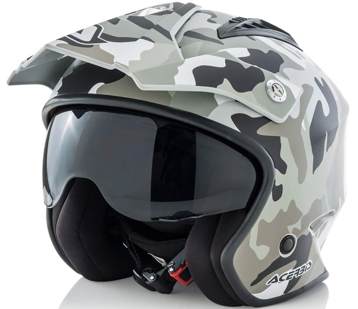 Amazon.es: casco Jet aire Camo/Brown M