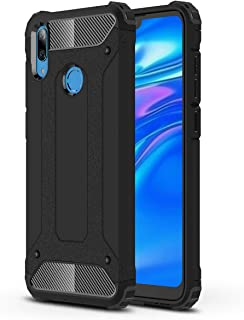 FanTing Case for Huawei Y7 Prime 2019, [ Shockproof] [Heavy Duty] [Tough Armoured] Generous Rugged Tough Dual Layer Armor ...