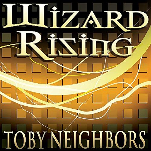 Wizard Rising audiobook cover art