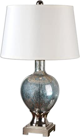 Uttermost 26490 Mafalda Mercury Glass Lamp by Uttermost