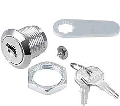 Kast kastdeur sloten veiligheid postbus slot met 2 sleutels voor Office File Wardrobe, zilver