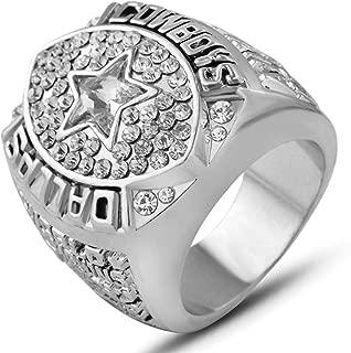 AJZYX 1992 Dallas Cowboys Supper Bowl Championship Rings Mens Ring Fans Gift Collectible Souvenir Size 9-12