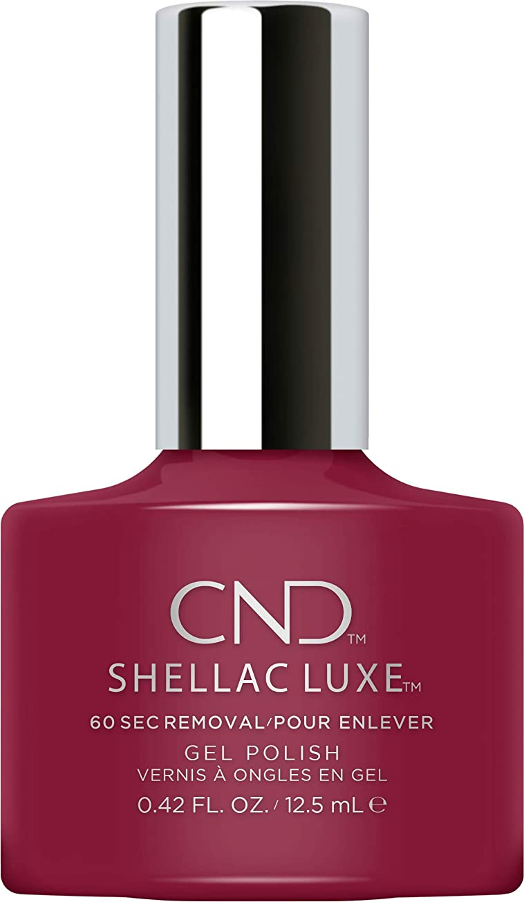ドループ挨拶優先権CND Shellac Luxe - Decadence - 12.5 ml / 0.42 oz