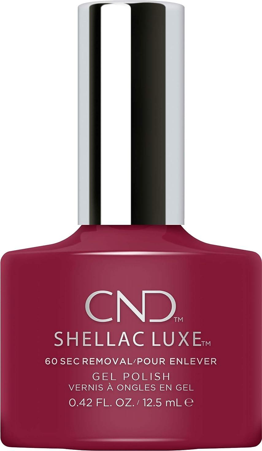トースト送るプランターCND Shellac Luxe - Decadence - 12.5 ml / 0.42 oz