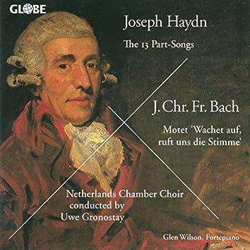 Haydn: Part-Songs - J.C.F Bach: Motet