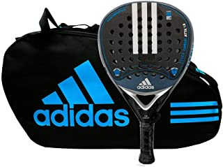 Pack pádel Essex Carbon Attack 1.8 Silver Control Blue