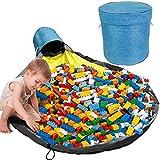 KRIS Toy Storage Bag,Sacco Portagiochi,Toy Storage Basket,Tappetino per Giochi Bambini Ric...
