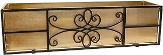 Panacea Quatrefoil Window Box, 36