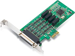 (DMC Taiwan) 4 Port PCIe Board, w/ DB9M Cable, RS-232/422/485, w/Isolation, Low Profile