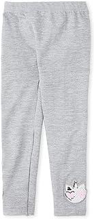 The Children's Place Girls' Big Printed Fleece Legging