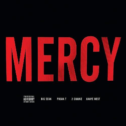 Kayne West-Mercy (clean/radio edit) with lyrcis [feat. Big Sean, Pusha T, 2 Chainz] New 2012 HD