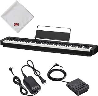 【Amazon.co.jp 限定】CASIO(カシオ) 88鍵盤 電子ピアノ ブラック CDP CDP-S100AZ