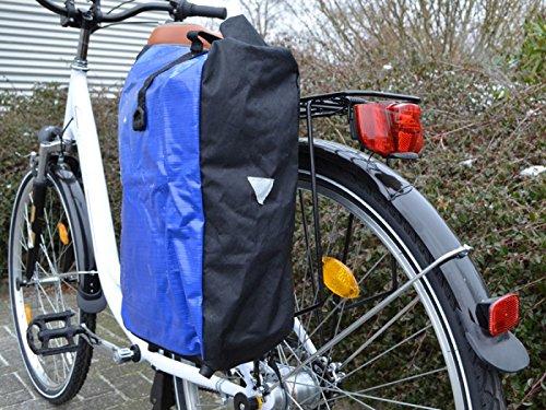 Gravidus Fahrradtasche aus Tarpaulin, Wasserdicht (Blau)
