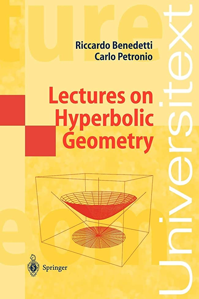 ペース部分的やめるLectures on Hyperbolic Geometry (Universitext)