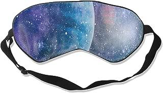 All agree Sleep Mask Puppy Dog Paw Print Bone Eye Mask Cover with Adjustable Strap Eyeshade for Travel, Nap, Meditation, Blindfold