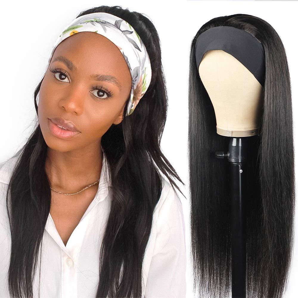Headband Wigs 5% OFF Human Straight Glueless Hair Trust