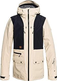 QUIKSILVER Men's Black Alder 2L Gore-TEX Snow Jacket