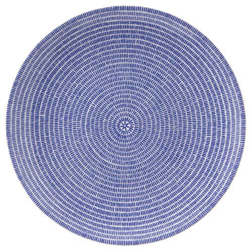 【正規輸入品】ARABIA (アラビア) 24h アベック プレート Avec Blue 26cm [並行輸入品]