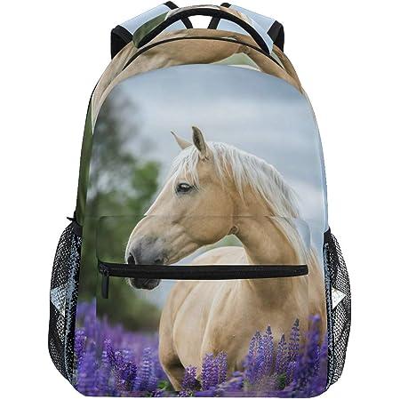 TropicalLife Cute Unicorn Multipurpose Backpacks College School Bookbag Hiking Travel Casual Daypack