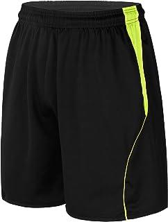 Aiihoo Men's Classic Elastic Waistband Pocket Side Shorts Shorts Drawstring Pants for Running Basketball Sportswear