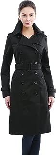 Women's Chloe Classic Hooded Waterproof Long Trench Coat