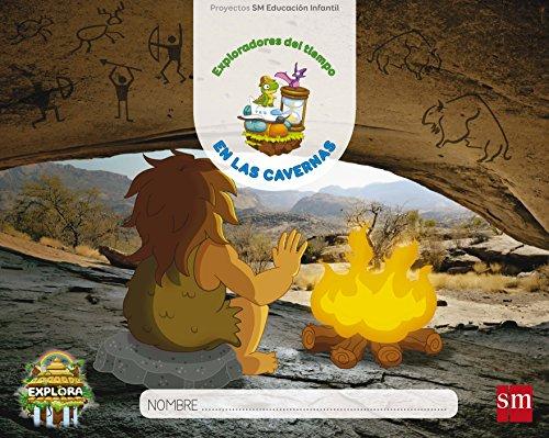 En las cavernas. (Exploradores del tiempo Nivel 1). Explora
