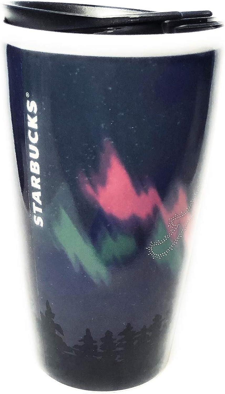 Starbucks ALASKA Northern Lights Tumbler You Are Here Collection 12 Ounce