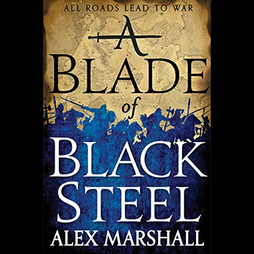 A Blade of Black Steel cover art