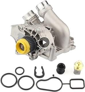 Wying Store Pompe à eau de moteur en aluminium automatique VW Convient à Passat Fit pour Jetta Fit for Tiguan Fit pour GTI...