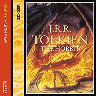 The Hobbit                   By:                                                                                                                                 J.R.R. Tolkien                               Narrated by:                                                                                                                                 Martin Shaw                      Length: 5 hrs and 57 mins     764 ratings     Overall 4.6