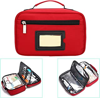 Portable Insulin Cooler Bag Travel Case Waterproof Medical Diabetic Organize Medication Insulated Cooling Bag
