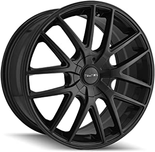 TOUREN TR60 (3260) FULL MATTE BLACK: 17x7.5 Wheel Size; 5-110/5-115 Lug Pattern, 72.62mm Bore, 42mm Offset.