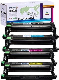 BAISINE DR221CL Drum Unit Sets Replacement for Brother DR221 DR-221CL Drum for Brother MFC-9130CW HL-3170CW HL-3140CDW MFC-9340CDW MFC-9330CDW HL-3150CDN (DR221BK, DR221C, DR221M, DR221Y, 4Pack)