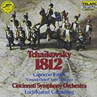 Tchaikovsky: 1812 Overture / Capriccio Italien / Cossack Dance from Mazeppa by Kunzel/Cincinnati SO (1990-10-25)