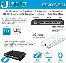 EdgeSwitch ES-8XP 8-Port Advanced + UC-CK Secure UniFi Controller Hardware Hybrid Cloud Key