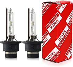 DMEX D2S - 35W - 4300K Xenon Headlight HID Bulbs Replacement - 2 Yr Warranty - Pack of 2