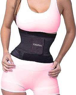 YIANNA Taillen-Trainer-Corsage f/ür Gewichtsverlust Latex Taillen-Cincher Slimming Sanduhr-Body Shaper Kolumbiana