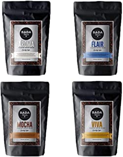 Bada Bean Coffee, Variety Pack, Roasted Beans, 1kg. Fresh Roasted Daily. Award Winning Speciality Coffee Beans. (Whole Beans)