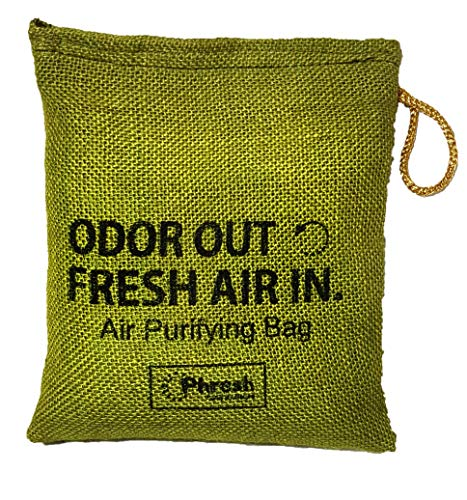 Phresh Air Purifier and Dehumidifier for Car,Kitchen,Living Room Bathroom,Drawer,Fridge, Freezer, gym bag,and storage area (500gm, Olive Green)