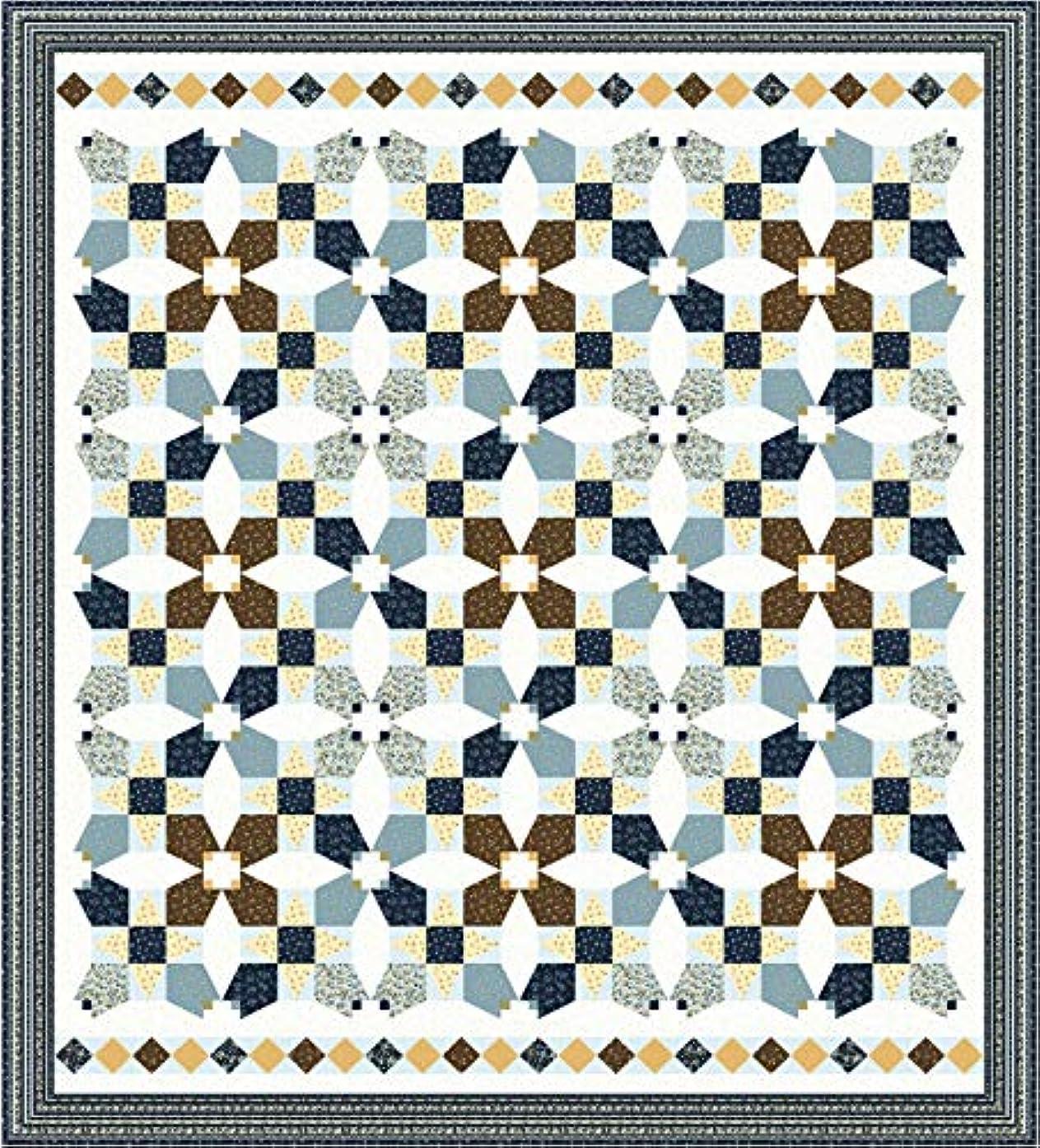 English Countryside Duchess' Blooms Quilt Kit Maywood Studio