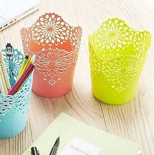 Sipliv portamatite creativo porta penna tipo ombrello portapenne contenitore ideale per scrivania blu base per contenere piccoli oggetti e maniglia per ombrello /è una penna