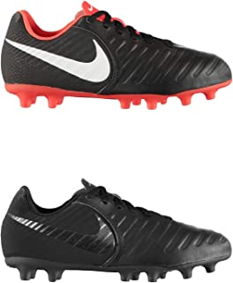 Official Brand Nike Tiempo Legend Club Firm Ground Football Boots Juniors Soccer Cleats Shoes