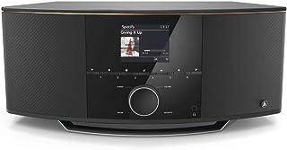 Hama IR150MBT, internetradio met 2.1 geluidssysteem (stereo 90 watt RMS, Bluetooth/USB/AUX, Spotify, kleurendisplay, afsta...