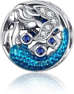 Eternalll Jewellery Original 100% 925 Sterling Silver Charm Bead Love Animal Charm Family Birthday fit Pandoras Bracelets ...