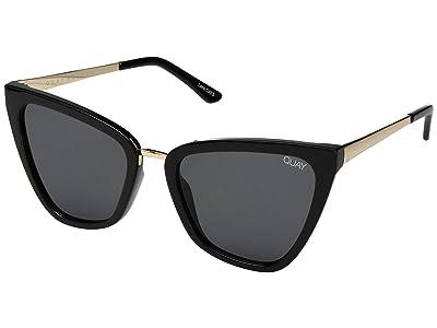 QUAY AUSTRALIA Quay x JLo Reina (Black/Smoke) Fashion Sunglasses