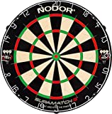 Nodor SupaMatch2 Regulation-Size Bristle Dartboard with...