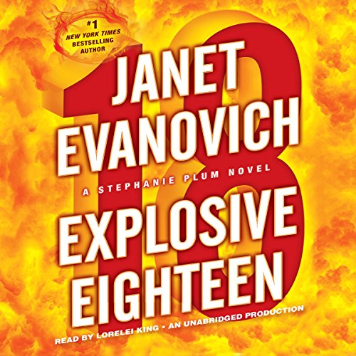 Explosive Eighteen audiobook cover art