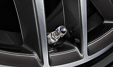 BMW M Design Lot de 4 bouchons de valve BMW pour véhicules avec RDCi