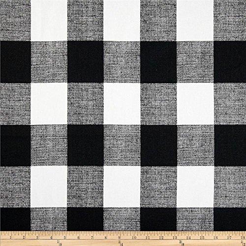 Premier Prints Black/White Anderson Check, Yard