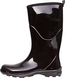 Kamik Women's Heidi Rain Boot,Black/Noir,11 M US